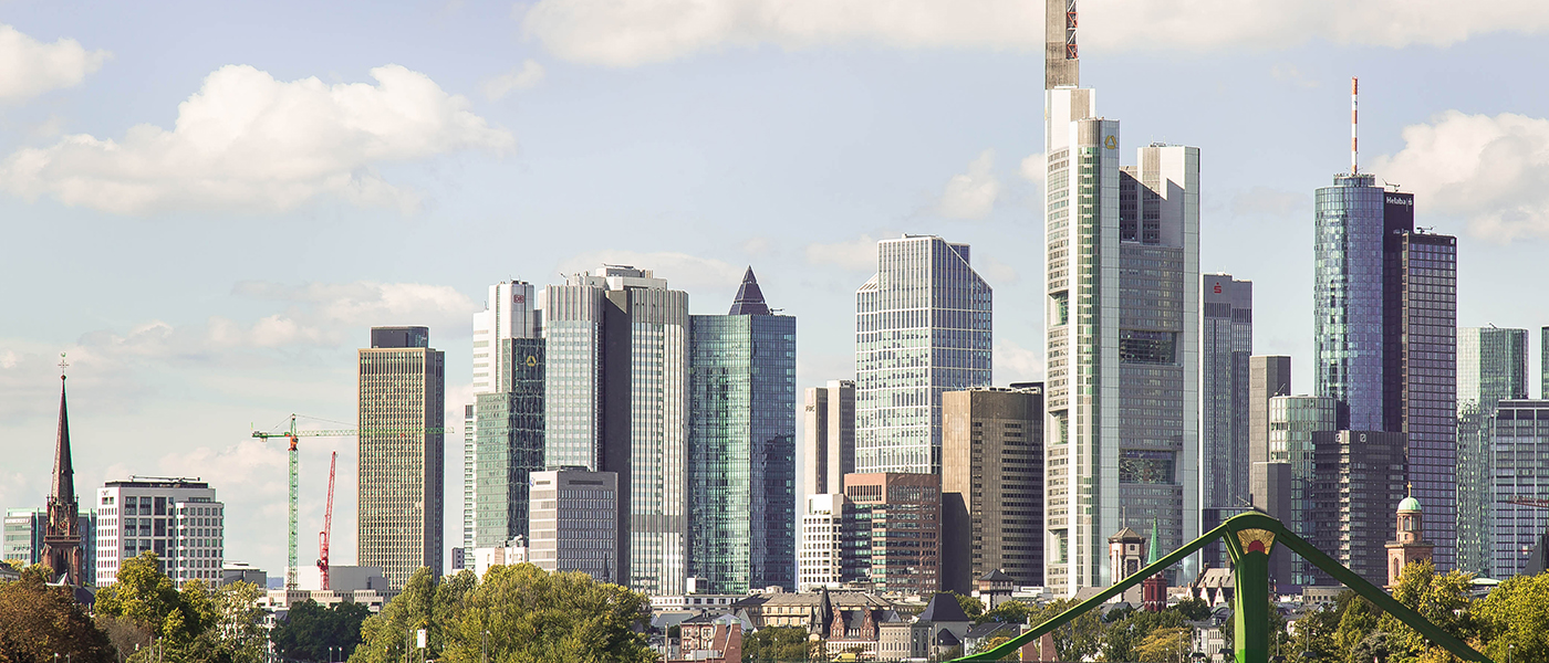 In the heart of Europe - Frankfurt am Main